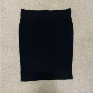 💜4/$30 - Black pencil skirt